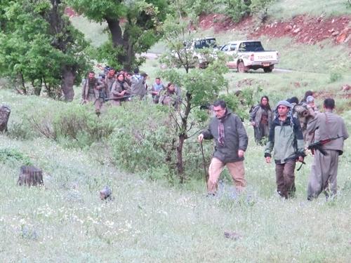 PKK Sınır Dışına Çekiliyor 5