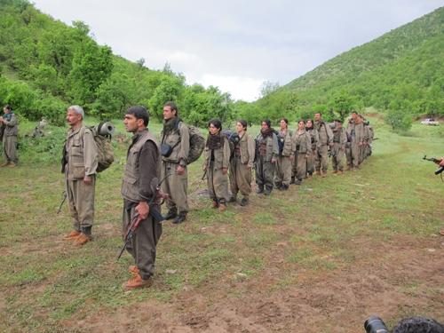 PKK Sınır Dışına Çekiliyor 6