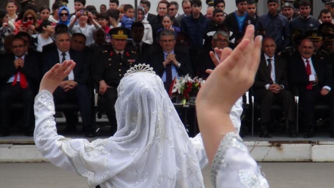Kars'ta 23 Nisan coşkusu 2