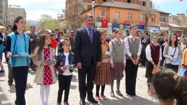 Kağızman'da 23 Nisan kutlamaları 1