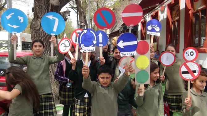 Kars'ta İngilizce Trafik Uygulaması 2
