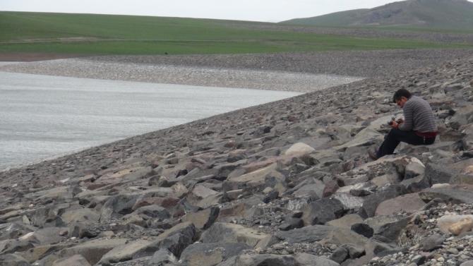 Bayburt Barajı'nda Su Seviyesi Sınırda 1