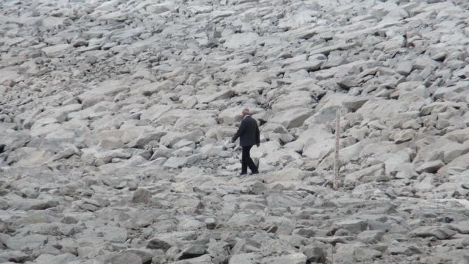 Bayburt Barajı'nda Su Seviyesi Sınırda 4