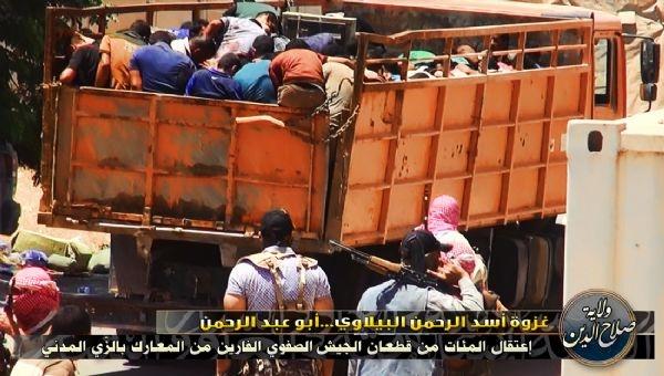 Musul'da IŞİD Katliamı 1