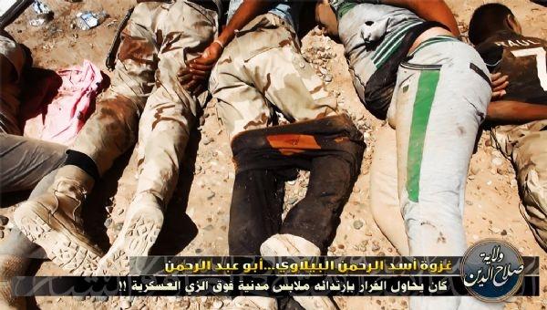 Musul'da IŞİD Katliamı 14