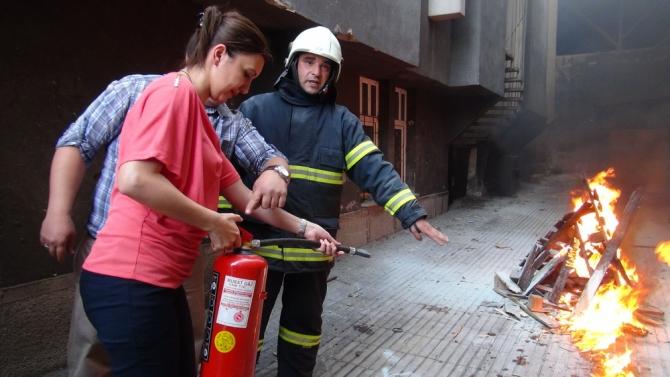 AFAD'ın Deprem ve Yangın Tatbikatı 12