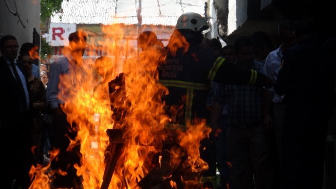 AFAD'ın Deprem ve Yangın Tatbikatı 6
