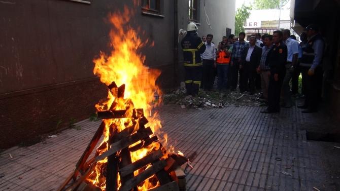 AFAD'ın Deprem ve Yangın Tatbikatı 7