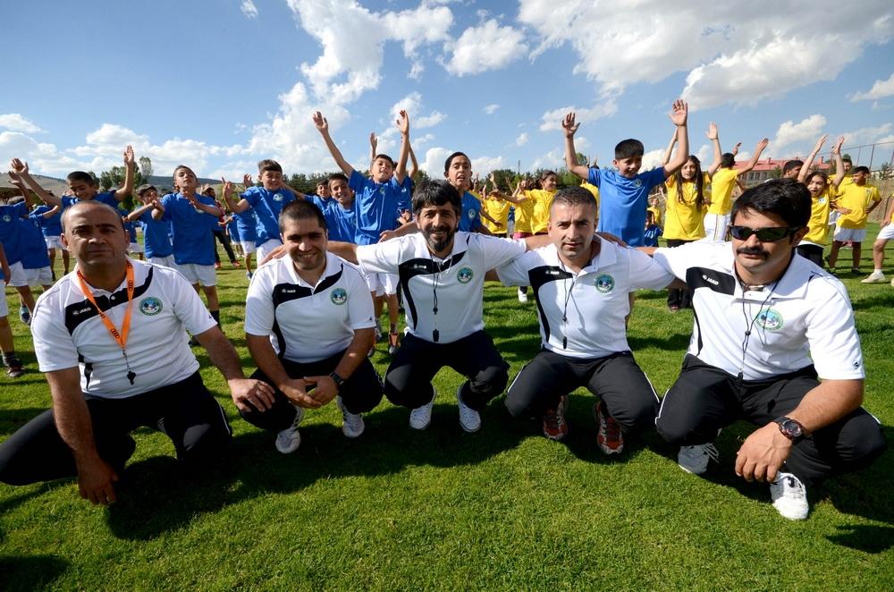 Sarıkamış'ta Yaz Spor Okullarına Yoğun İlgi 1