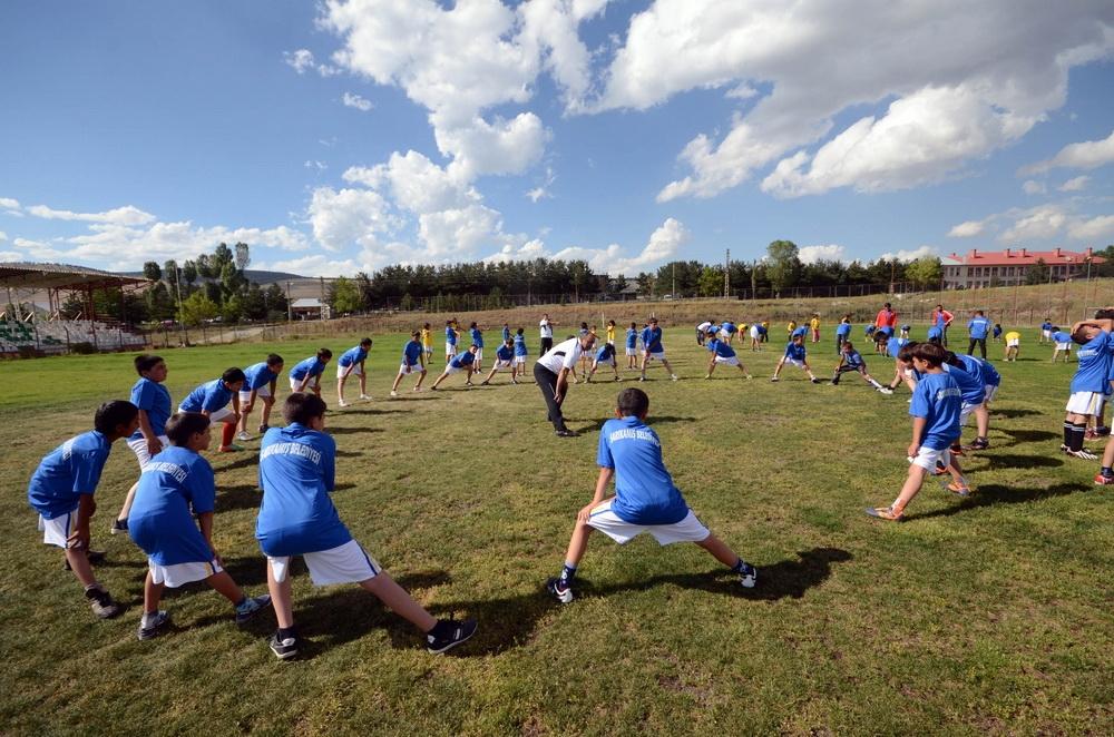 Sarıkamış'ta Yaz Spor Okullarına Yoğun İlgi 2