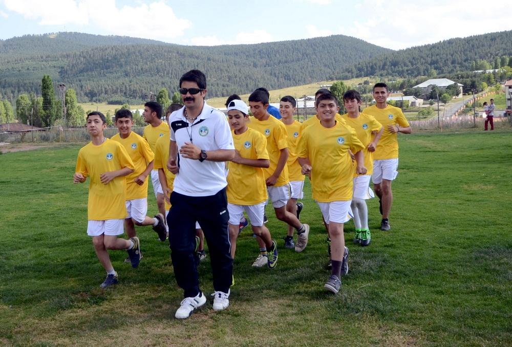 Sarıkamış'ta Yaz Spor Okullarına Yoğun İlgi 3