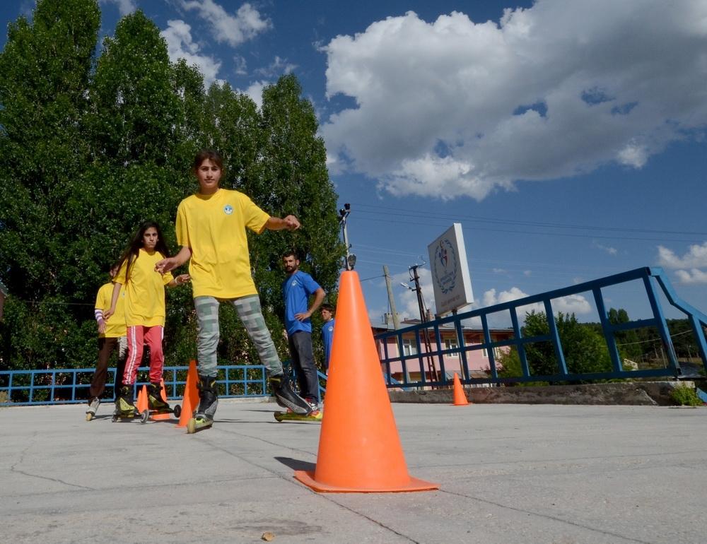 Sarıkamış'ta Yaz Spor Okullarına Yoğun İlgi 8
