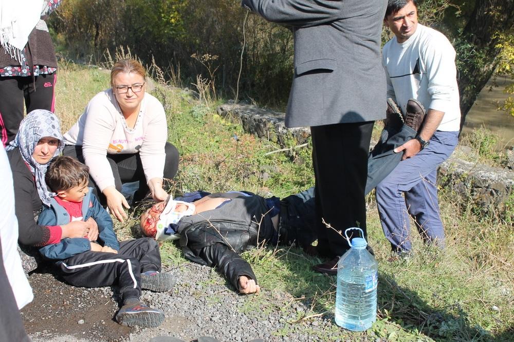 Kars'ta Trafik Kazası 6 Yaralı 1