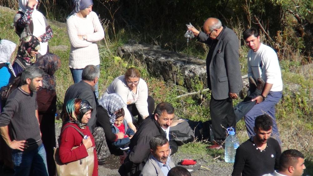 Kars'ta Trafik Kazası 6 Yaralı 11