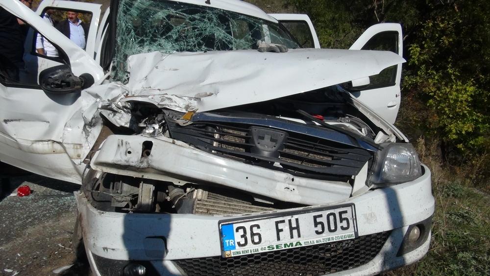Kars'ta Trafik Kazası 6 Yaralı 5