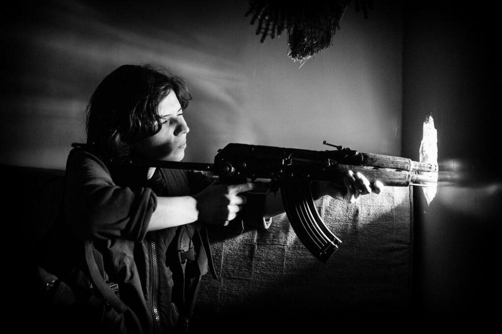 IŞİD'le Savaşan Kadınlar 13