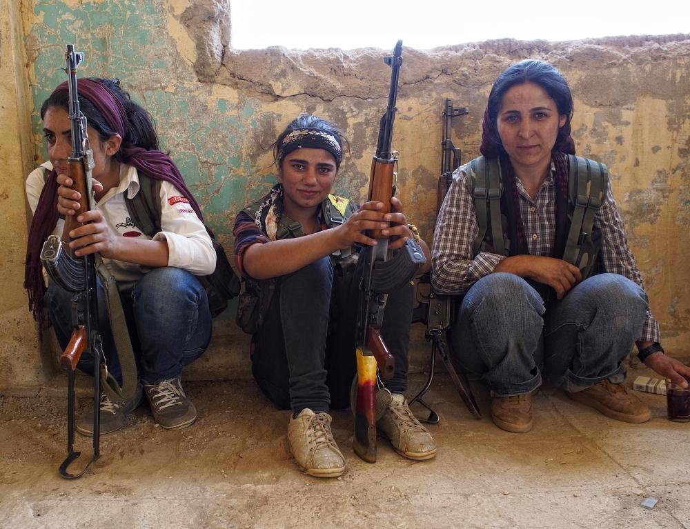 IŞİD'le Savaşan Kadınlar 18