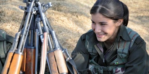 IŞİD'le Savaşan Kadınlar 23
