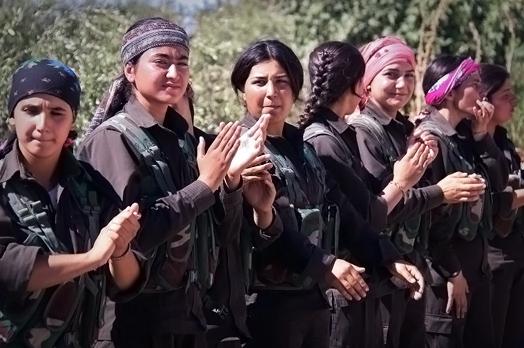 IŞİD'le Savaşan Kadınlar 25