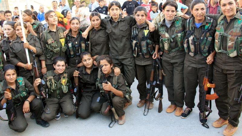 IŞİD'le Savaşan Kadınlar 26