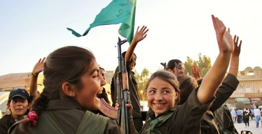 IŞİD'le Savaşan Kadınlar 28