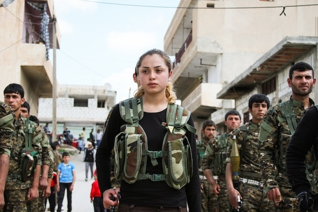 IŞİD'le Savaşan Kadınlar 30