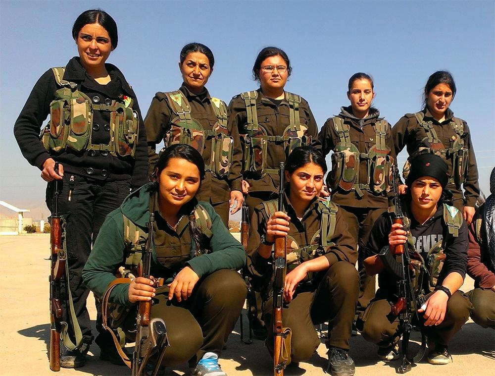 IŞİD'le Savaşan Kadınlar 33
