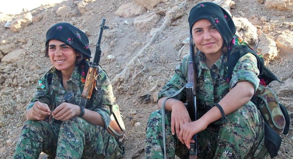 IŞİD'le Savaşan Kadınlar 5