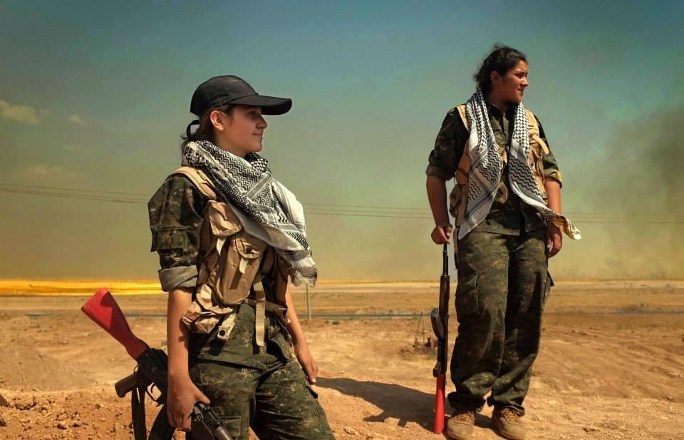 IŞİD'le Savaşan Kadınlar 8
