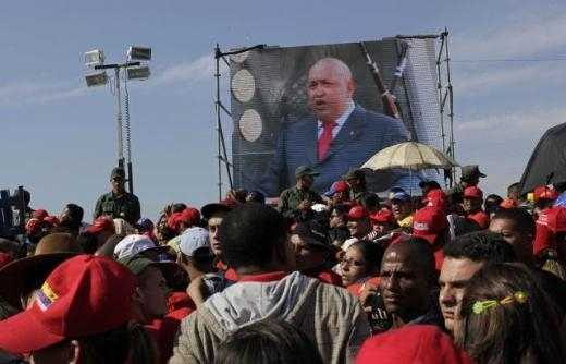 Hugo Chavez'e Muhteşem Uğurlama 11