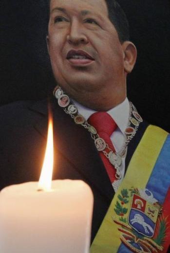 Hugo Chavez'e Muhteşem Uğurlama 13