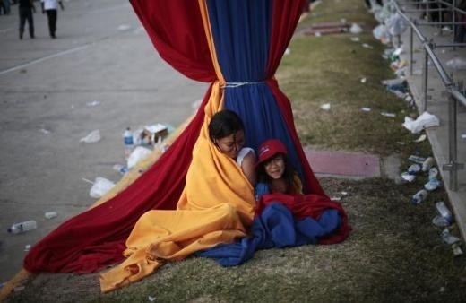 Hugo Chavez'e Muhteşem Uğurlama 15