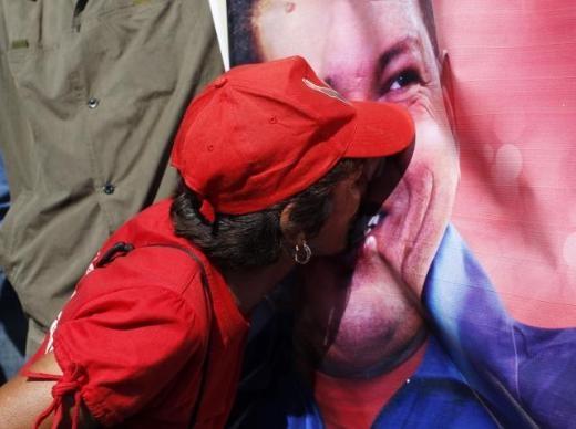 Hugo Chavez'e Muhteşem Uğurlama 17