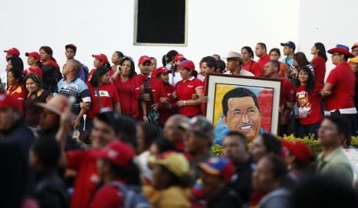 Hugo Chavez'e Muhteşem Uğurlama 18