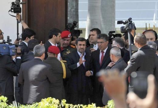 Hugo Chavez'e Muhteşem Uğurlama 3