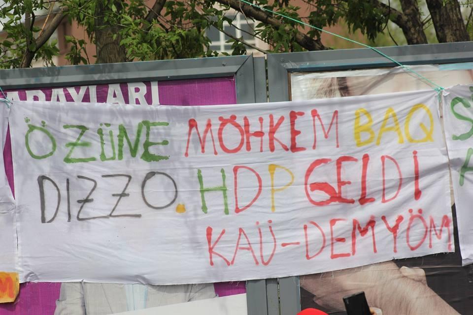 Kars'ta HDP'nin Miting Coşkusu 14