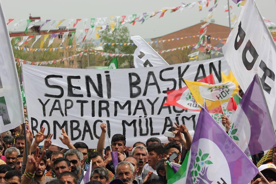 Kars'ta HDP'nin Miting Coşkusu 15