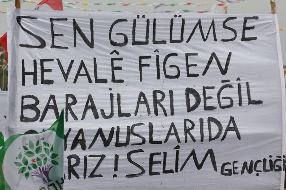 Kars'ta HDP'nin Miting Coşkusu 18
