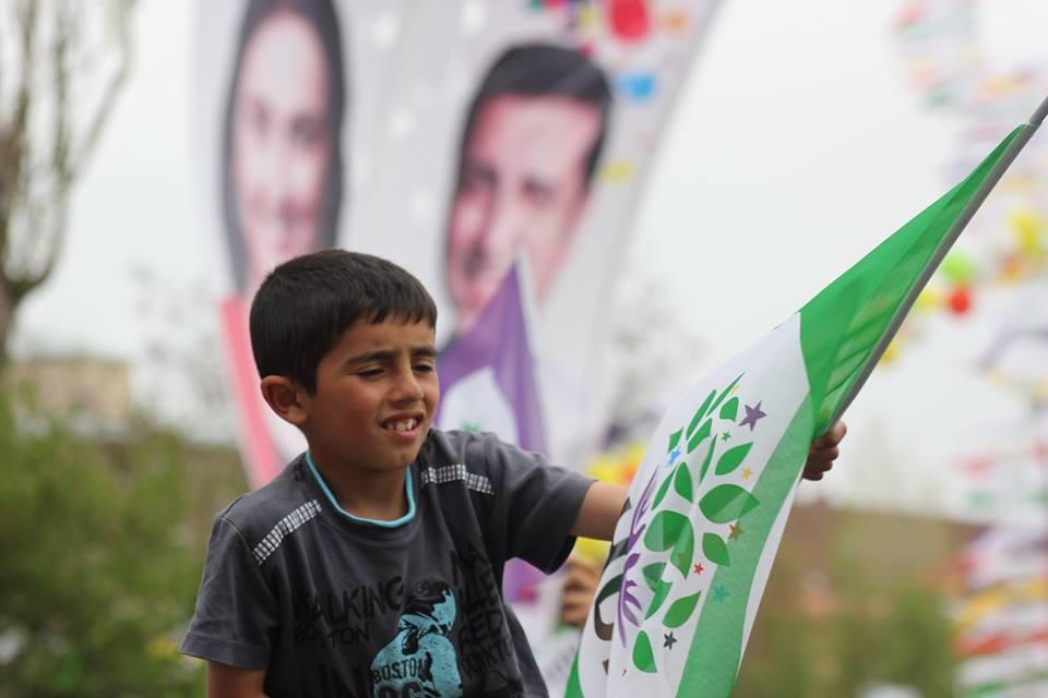 Kars'ta HDP'nin Miting Coşkusu 20