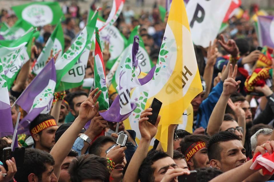 Kars'ta HDP'nin Miting Coşkusu 22