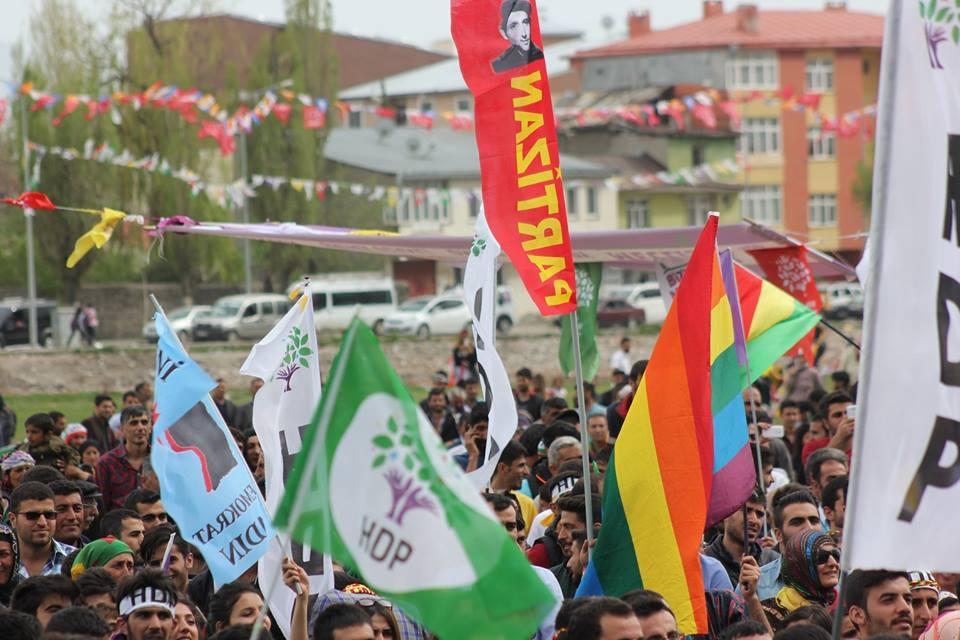 Kars'ta HDP'nin Miting Coşkusu 24