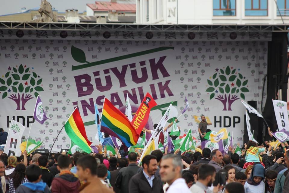 Kars'ta HDP'nin Miting Coşkusu 26