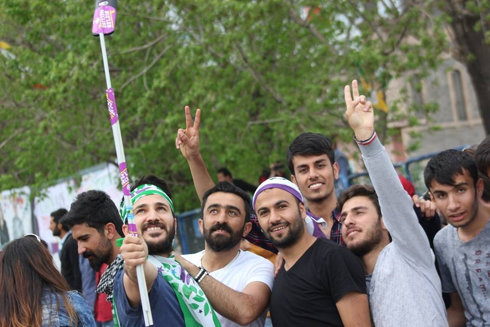 Kars'ta HDP'nin Miting Coşkusu 27
