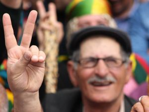Kars'ta HDP'nin Miting Coşkusu