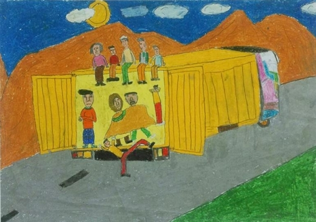 Çocukların Dünyasında Göç 4