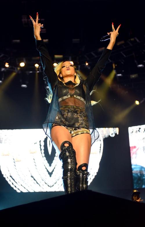 İstanbul'dan Rihanna geçti 7