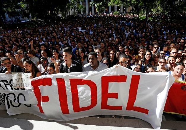 Fidel Castro'ya 'Elveda' 1