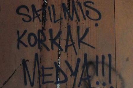Gezi Parkı Direnişi Duvarlara da Yansıdı 10