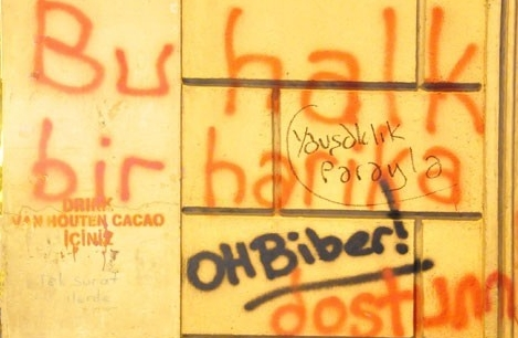 Gezi Parkı Direnişi Duvarlara da Yansıdı 17