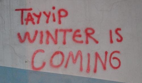 Gezi Parkı Direnişi Duvarlara da Yansıdı 4